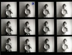 Francesca Woodman, Contact Sheet on ArtStack #francesca-woodman #art