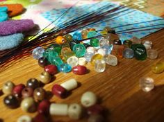 Lovely beads liven up any art project