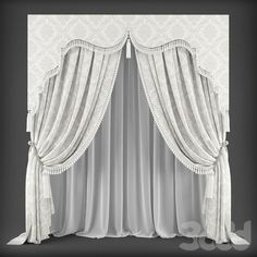 Panel Curtains, Valance, Swags And Tails, Baby Patchwork Quilt, Pelmets, Curtain Designs, Window Treatments, Blinds, Art Deco
