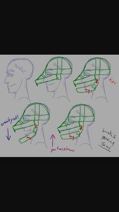 Moving jaw mask
