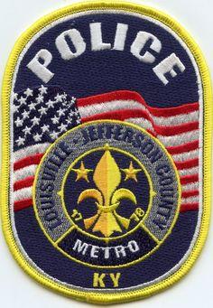Louisville - Jefferson County Kentucky. Police patch.