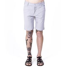 Magic Chino Shorts Cinza | PYRAMID BRAND