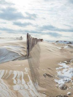 The Snow Fence at Pere Marquette Beach in Muskegon, Michigan. Snow Fence, Pine City, Lake Michigan Beaches, Muskegon Michigan, Water, Trips, Therapy, Outdoor, Gripe Water