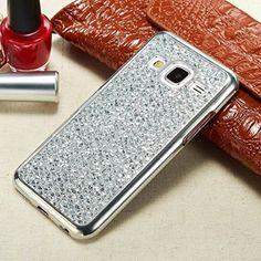 J3/J3 2016/J3 V/J3V/Amp Prime/Express Prime Glitter TPU Case, Houshine Electroplated Bumper Bling Soft Cover Case for Samsung Galaxy J3 2015, J3 2016, J3 V, J3V, Amp Prime, Express Prime, Rose Gold