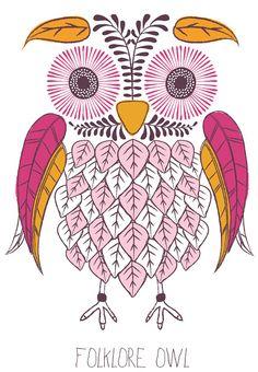 © emily kiddy - folklore owl