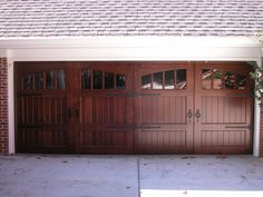 Stain Grade Carriage House Door