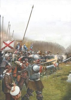 A Spanish tercio in the thirty years war Renaissance, Military Art, Military History, Thirty Years' War, Landsknecht, Conquistador, Medieval Armor, Fantasy Inspiration, Pics Art