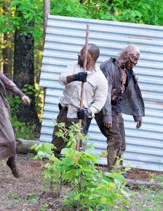 "The Walking Dead Season 6 Episode 1 ""First Time Again""  Morgan Jones"