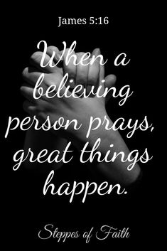 Christian Quotes:Believe that God always hears you, and He's already at work to bless you. Believe that with God, great things can always happen! Prayer Scriptures, Bible Prayers, Faith Prayer, Prayer Quotes, Bible Verses Quotes, Faith In God, Faith Quotes, God Prayer, Scripture Verses