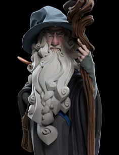 Gandalf the grey Zbrush Character, 3d Model Character, Character Modeling, Character Concept, Character Art, Concept Art, 3d Modeling, 3d Figures, Vinyl Figures