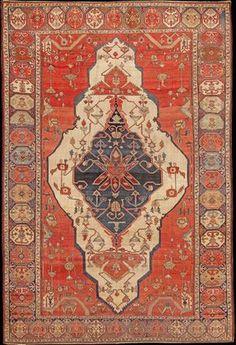 Persian Serapi rug, late 19th century