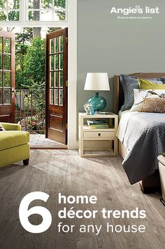 Gray tones remain a favorite for wall colors, furniture and flooring. Find out what other design and décor trends are hot this year. Visit AngiesList.com for ideas and inspiration.