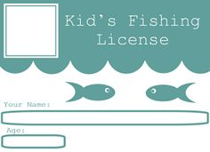 Fishing pole pattern use the printable outline for crafts for Day fishing license