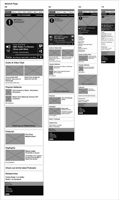 BBC Radio Mobile by Neil Bramah, via Behance