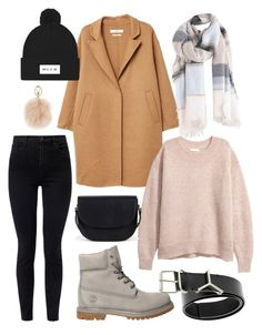 """Untitled #77"" by karinstyleonly on Polyvore featuring MANGO, Timberland, J Brand, Sole Society, Furla and Y/Project"
