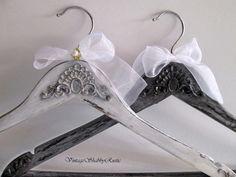 Wedding Hangers. Bridal Groom Hangers. Personalized Hanger. Rustic Wedding Hangers. Wedding Name Hangers.Black and White Wedding. by VintageShabbyRustick on Etsy