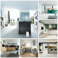 We know everyone has their own style hence our varied range of #Schüller kitchen designs
