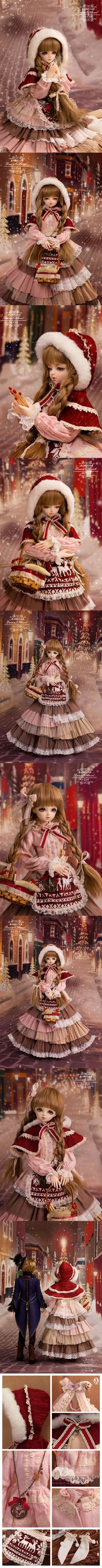 Bjd Clothes 1/4 girl retro clothes/butterfly CL4151109 for MSD Ball-jointed…