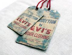 Levi's Vintage { interesting metal embellishment }