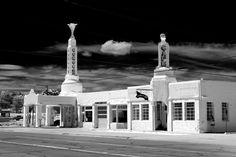 Shamrock,Texas -Aout 2013-