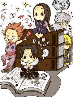 Hunter x Hunter | hxh | Kurapika | Kuroro | Chrollo | Hisoka | Illumi | Killua Zoldyck | Anime