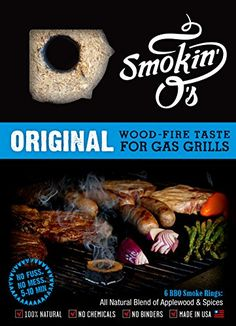 SmokinOs BBQ Smoke Rings  Woodfire Taste for Gas Grills Original *** Read more by visiting the link on the image.