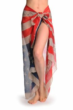 Amazon.com: Vintage American Flag With Skulls Unisex Scarf & Beach Sarong - Scarf: Clothing
