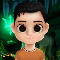 Percy.... #HoO_dollify Cute Cartoon Girl, Tio Rick, Lolo, Percy Jackson Fandom, Thalia, Anime Art, Universe, Fandoms, Animation