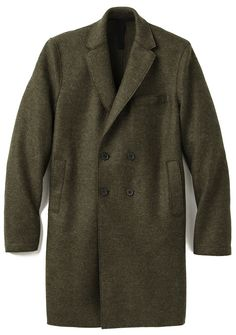 Harris Wharf wool coat.