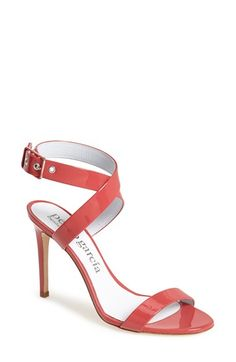 red strappy heels by Pedro Garcia 'Cecily'