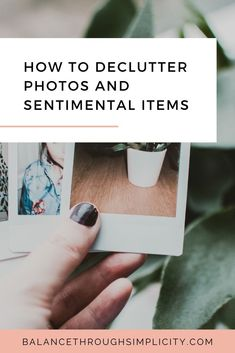How to declutter your sentimental items - Balance Through Simplicity Slow Living, Mindful Living, Minimalist Living, Minimalist Lifestyle, Introvert Problems, Declutter Your Life, Feeling Overwhelmed, Simple Living, Home Interior