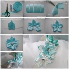 How to Make Pretty Satin Ribbon Hairband