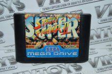 Juego Game Sega Megadrive - Super Street Fighter II 2 - PAL ESP - Años 80 90 - Vintoys