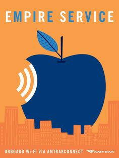 Empire Service WiFi Ad by Andrew Bannecker.