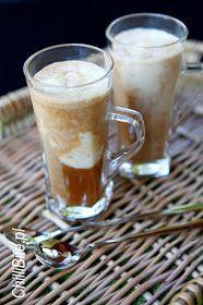 lodowa kawa z bananem