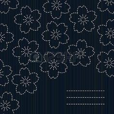 Sashiko. Open pin for many, many pattern ideas.