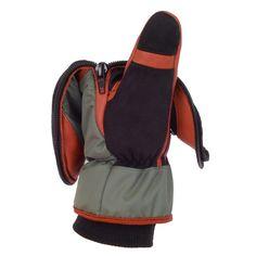 Safety Mitten Detail | Mittens | Mens Snowboarding | Outerwear