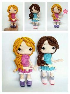 Amigurumi Doll Free Pattern —Amigurumi doll crochet free pattern Free Crochet, Crochet Hats, Amigurumi Doll, Free Pattern, Crochet Patterns, Dolls, Crochet Granny, Puppet, Sewing Patterns Free
