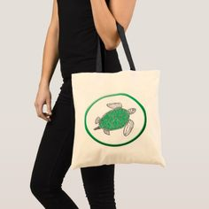 Hawaii turtle tote bag - accessories accessory gift idea stylish unique custom