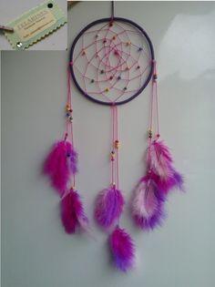 Atrapasueños de Telarines Dream Catchers, Diy, Home Decor, Dreamcatchers, Decoration Home, Bricolage, Room Decor, Dream Catcher, Diys