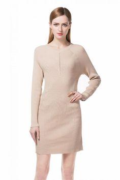 Women's V-neck Raglan Long Sleeve Sweater Dress Top with Rib Trim Long Sleeve Sweater Dress, Knit Sweater Dress, Jumper, Knitwear, Dresses For Work, V Neck, Knitting, Sweaters, Clothes