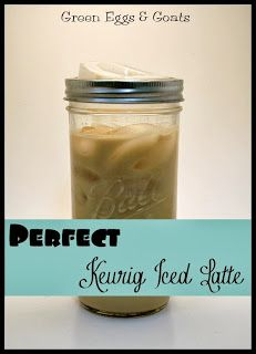 When I eventually break down and buy a Keurig :)   Perfect Keurig Iced Latte