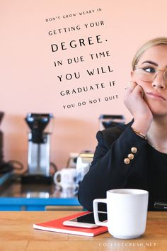 Don't grow weary in getting your degree. In due time you will graduate if you do not quit | freshman tips | college life quotes | college hacks | college life hacks | college quotes | school | school quotes | endurance | resilience | staying strong | motivational quotes | life quotes | truth quotes | leadership quotes | success quotes | summer | fall | quotes by genres | via collegecrush.net College Life Quotes, College Life Hacks, School Quotes, Leadership Quotes, Success Quotes, Strong Motivational Quotes, Freshman Tips, Fall Quotes, Staying Strong