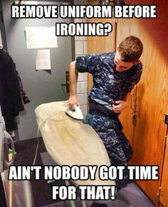 That moment when you know a cadet who actually did this and got burned.... -_-