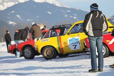 """The 11th Historic Ice Trophy runs from 15th to 18th January. The classic """"6 hours from Altenmarkt"""" race really makes the Oldtimer's eyes shine and this year there is a Youngtimer-competition on the same track. Free entry for spectators! More information at: www.historicicetrophy.at  ©Altenmarkt-Zauchensee Tourismus/Astrid Perner  #altenmarkt #zauchensee #winter #sport #Youngtimer #historicicetrophy #rennen #race Winter Sport, Free Entry, Competition, Monster Trucks, January, Track, Racing, 18th, Ice"""