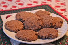Ginger Snaps, perfect for gifting, or keep for yourself.  They're great with a cup of hot cocoa.