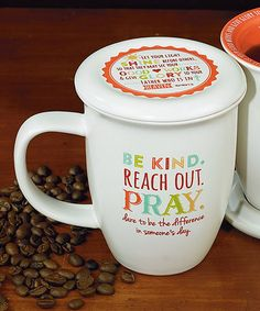 Another great find on #zulily! 'Be Kind' Mug & Coaster #zulilyfinds