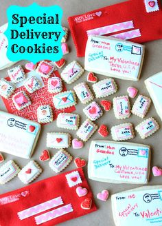 Special Delivery Cookies by Munchkin Munchies.