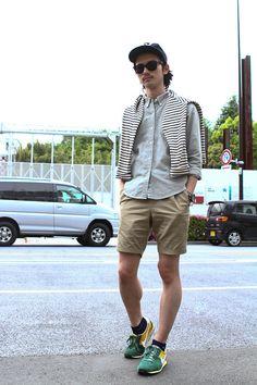 ストリートスナップ [Segawa Fumiya] | CA4LA, FREAK'S STORE, JUMBLE STORE, NIKE, Ray-Ban | 原宿 | 2012年05月03日 | Fashionsnap.com