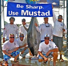 new 427-pound all-tackle yellowfin tuna record